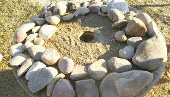 自然素材 石